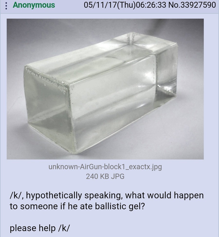/k/ adresses some complete theoretical questions (for a friend). .. hfw