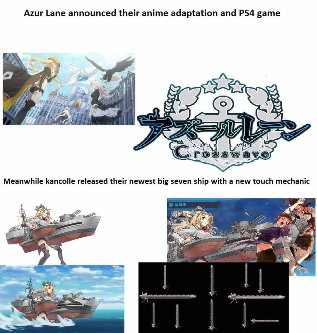 Kancolle vs Azur Lane. Futabari KC Nelson when? join list: Kancolle (259 subs)Mention Clicks: 10636Msgs Sent: 37416Mention History join list:. Don't forget that Gotland also got released as well join list: SnortingVideogamesMention History join list: