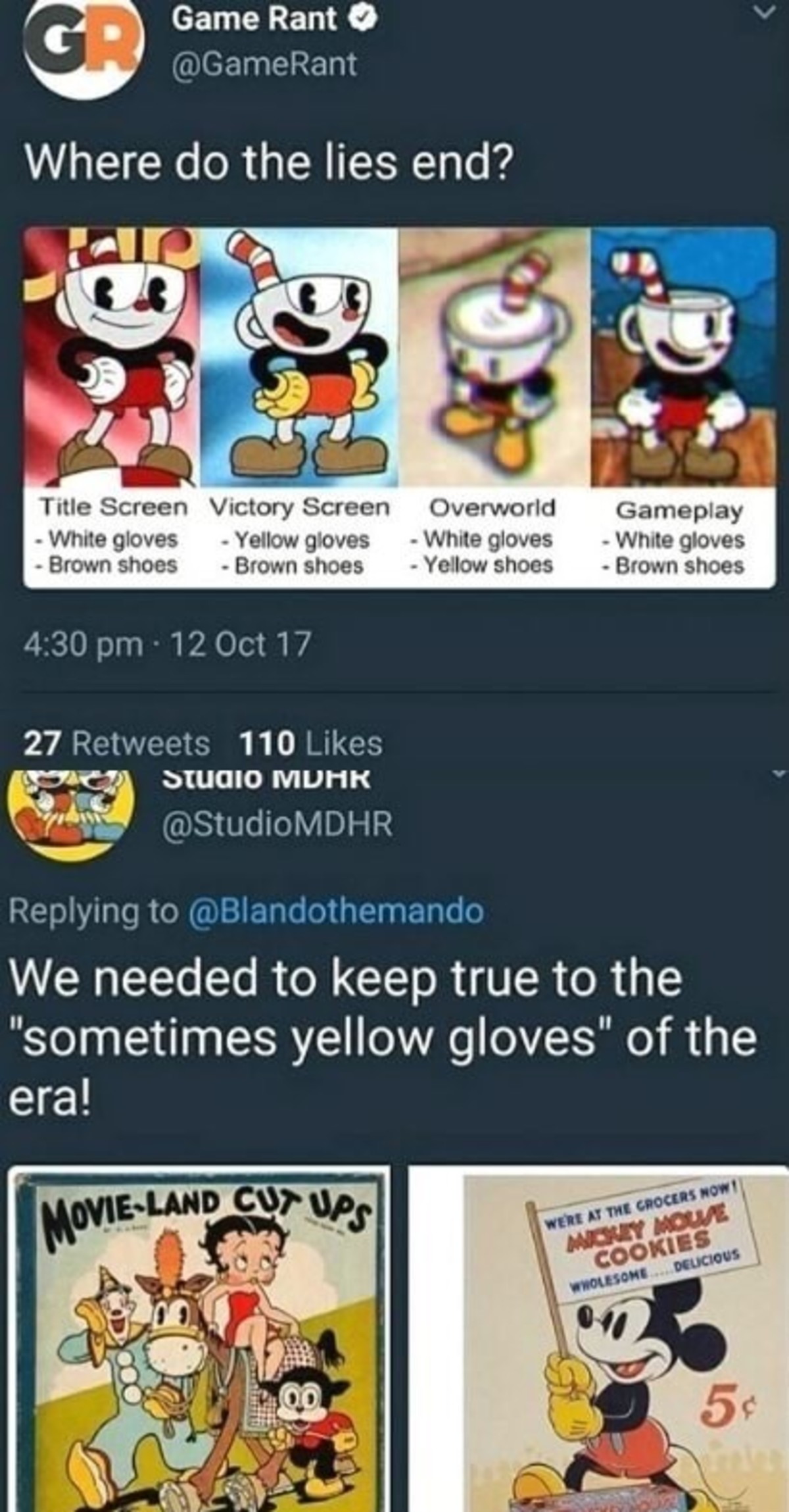 """Keeping it real. . p .3 Game Rant Where do the lies end? Tulle Screen Victory Sateen Over""""/ orld Mae gloves c; Yellow gloves """" whule gloves """""""" While gloves Brow"""