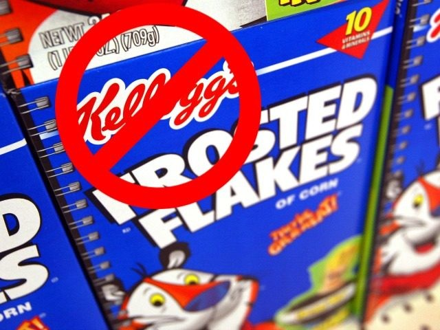 Kellog's blacklists Breitbart. http://www.breitbart.com/tech/2016/11/30/kelloggs-facebook-pages-erupt-with-dumpkelloggs-messages-for-blacklisting-breitbart/ &gt