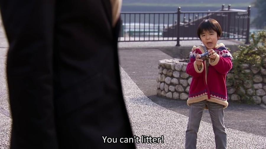 Kid's got a point. .. Punt the little autist