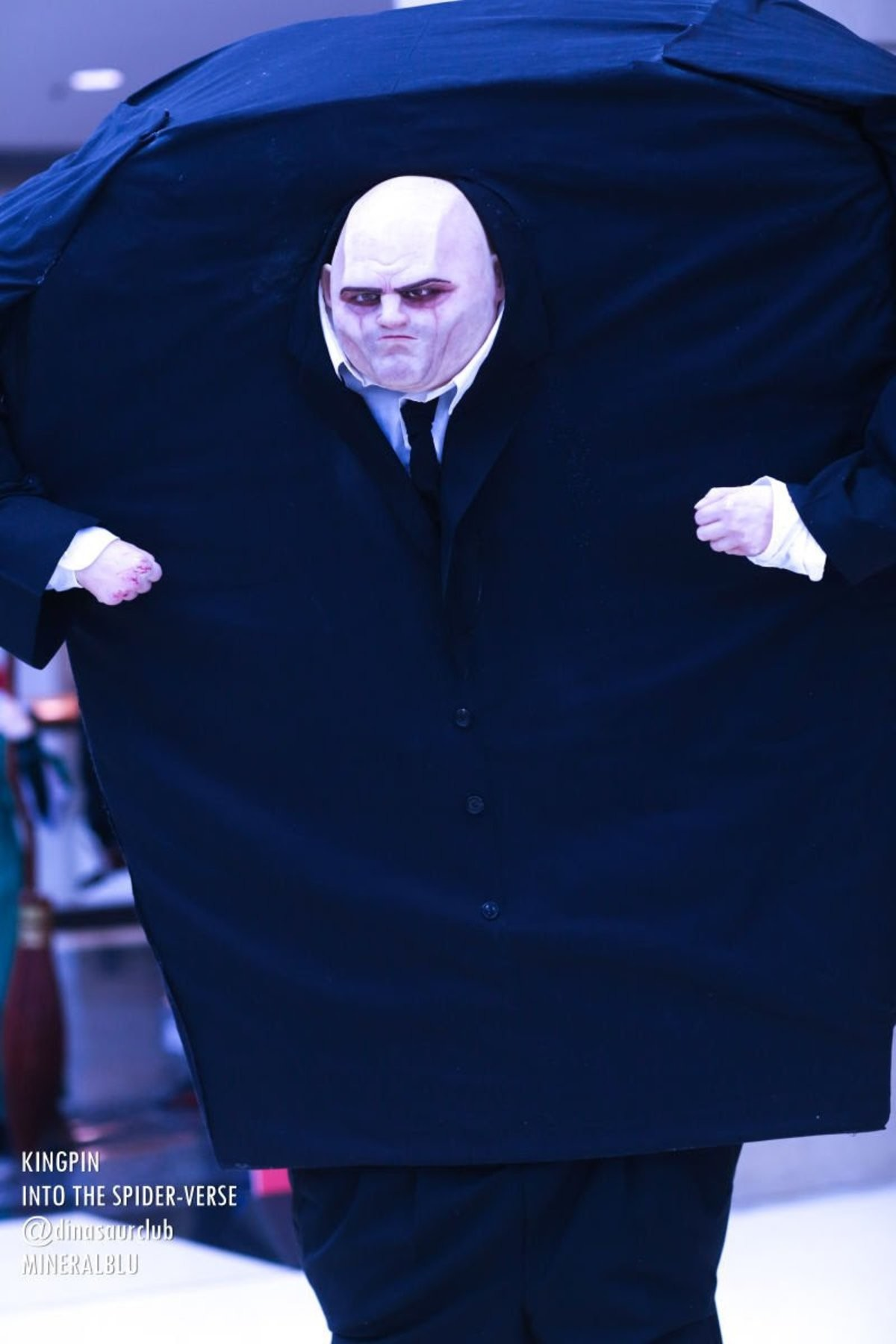 Kingpin Into The Spider-Verse Cosplay. .. There is only one true kingpin cosplayer