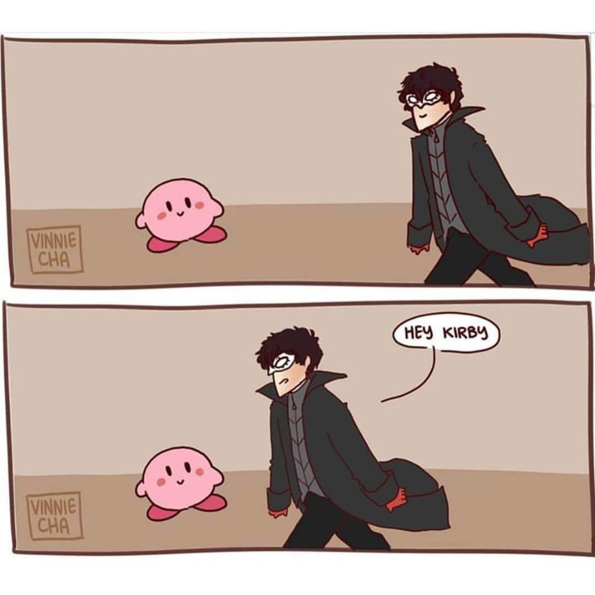 Kirby had enough.. .. Feels like I'm gonna get a lot of use out of this one