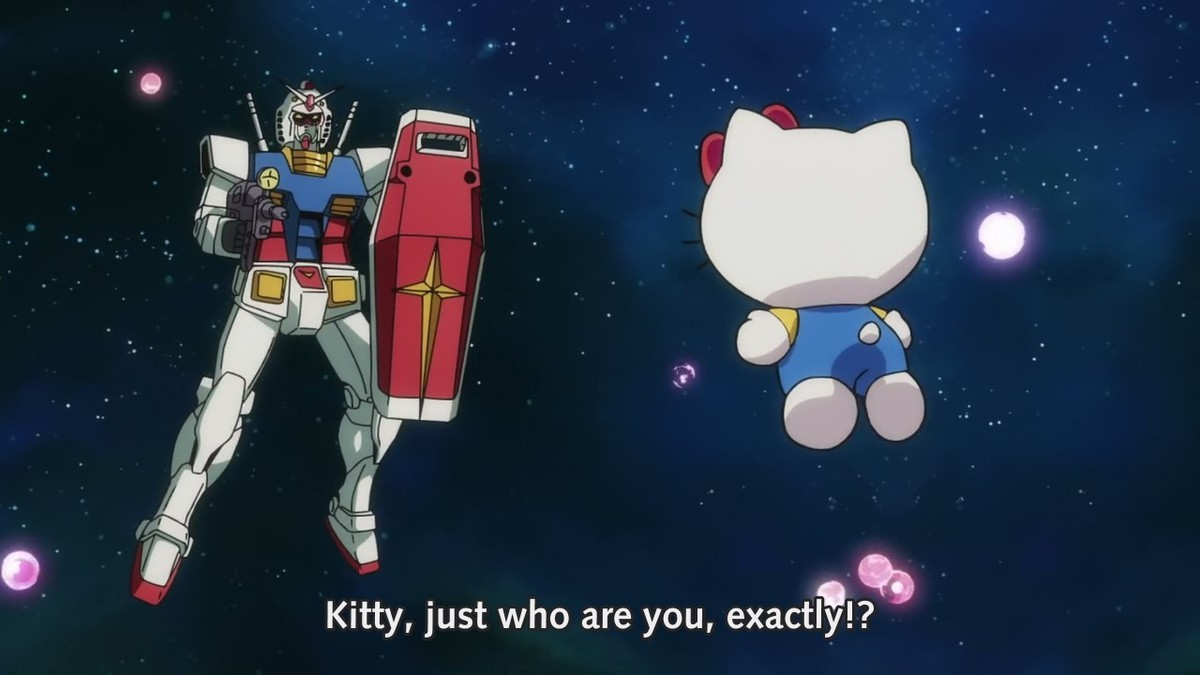 kitty. ..  Amuro is right to fear that mouthless abomination.