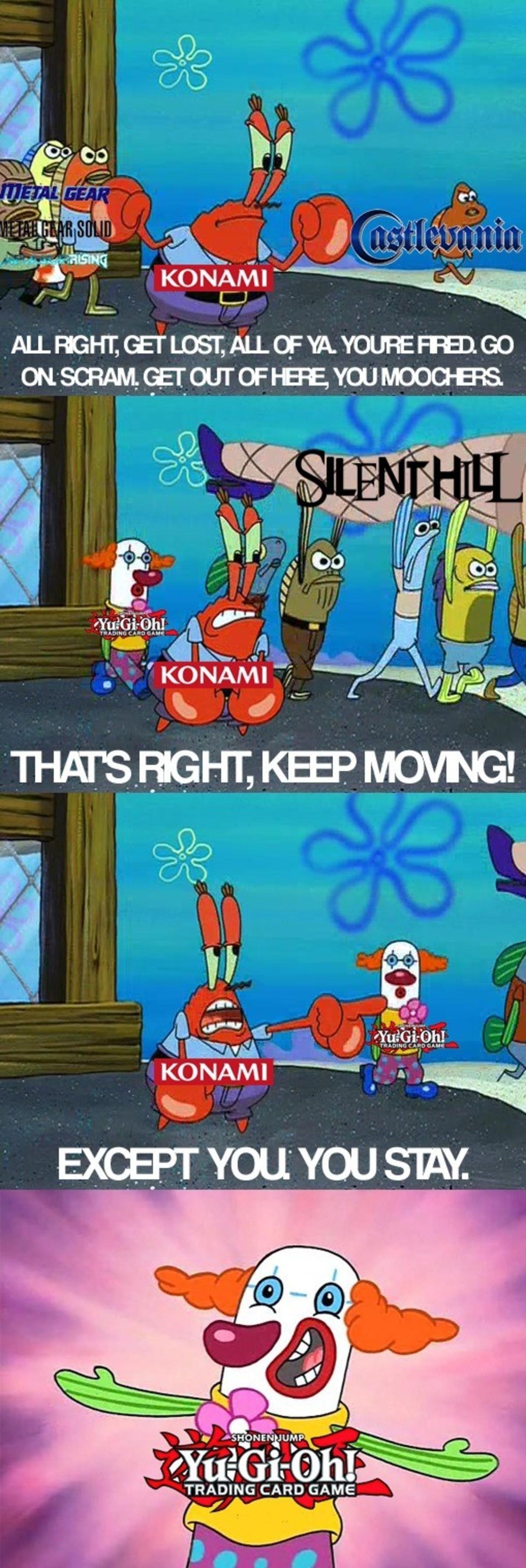 KOMANMO. .. Apparently Konami still looks at Contra's corpse