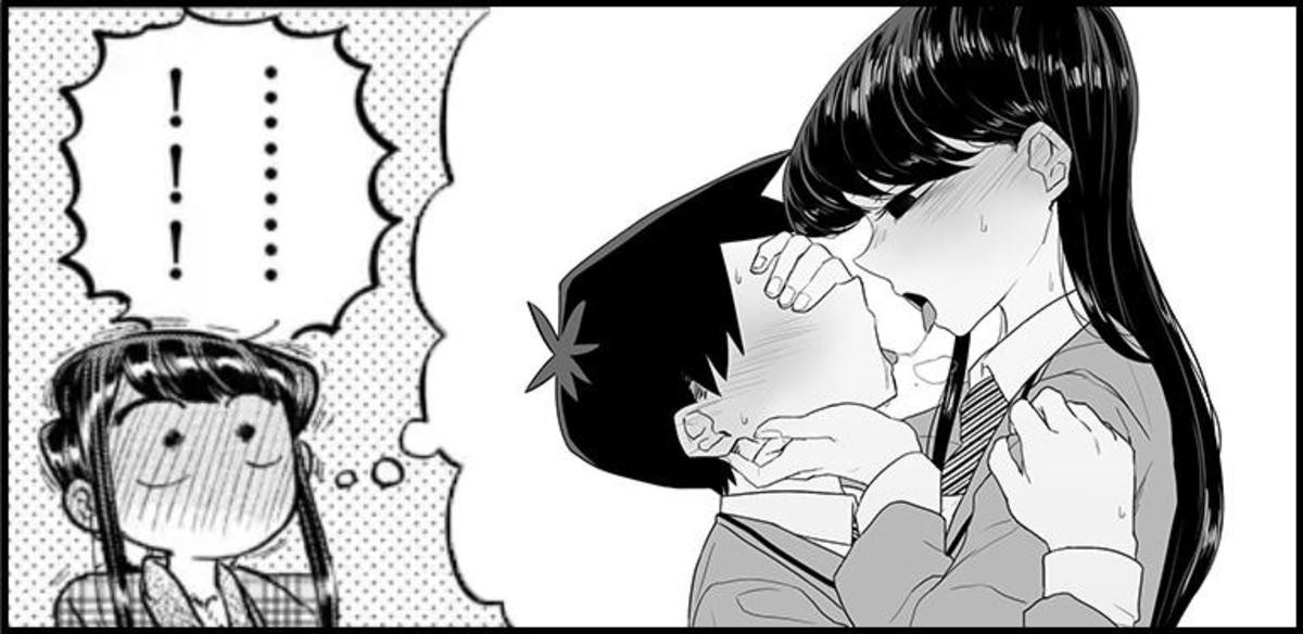 Komi-San fantasy. .. This confuses me, for I want this and I do not I DONT LIKE THIS BUT I WANT THIS, WHAT HAVE YOU DONE