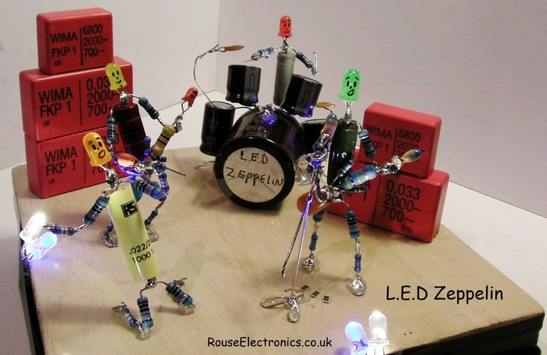 L.E.D Zeppelin. .. Where they supported by AC/DC?