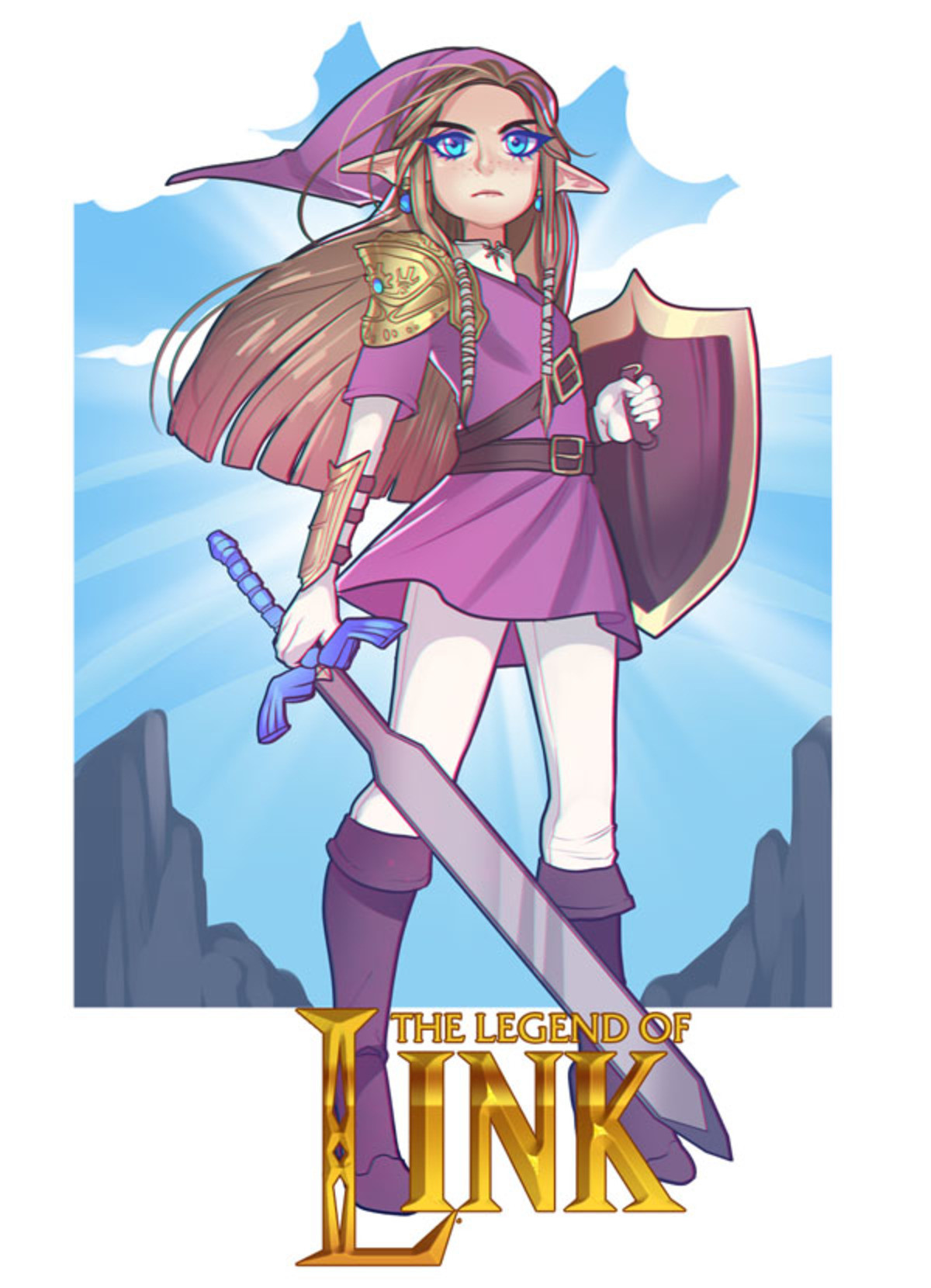 Legend of Link. .. but what if link was a boy?