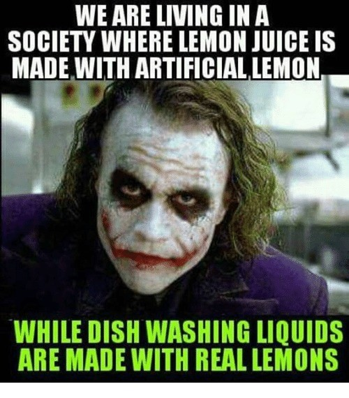 Lemony Society. .. Did someone mention lemons?