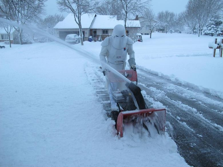 Life on Hoth. Day to day living on planet Hoth. You know how it is... Hoth?, seems pretty cold to me.