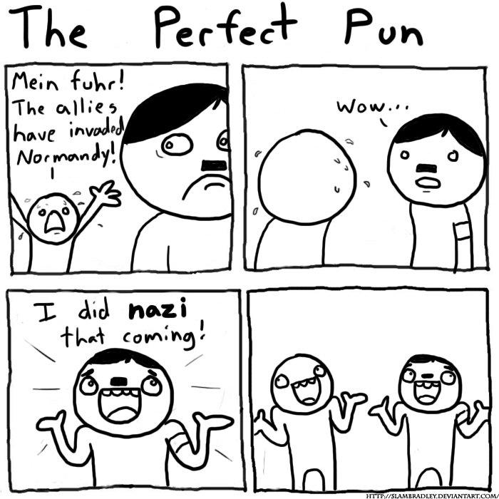lol puns. .
