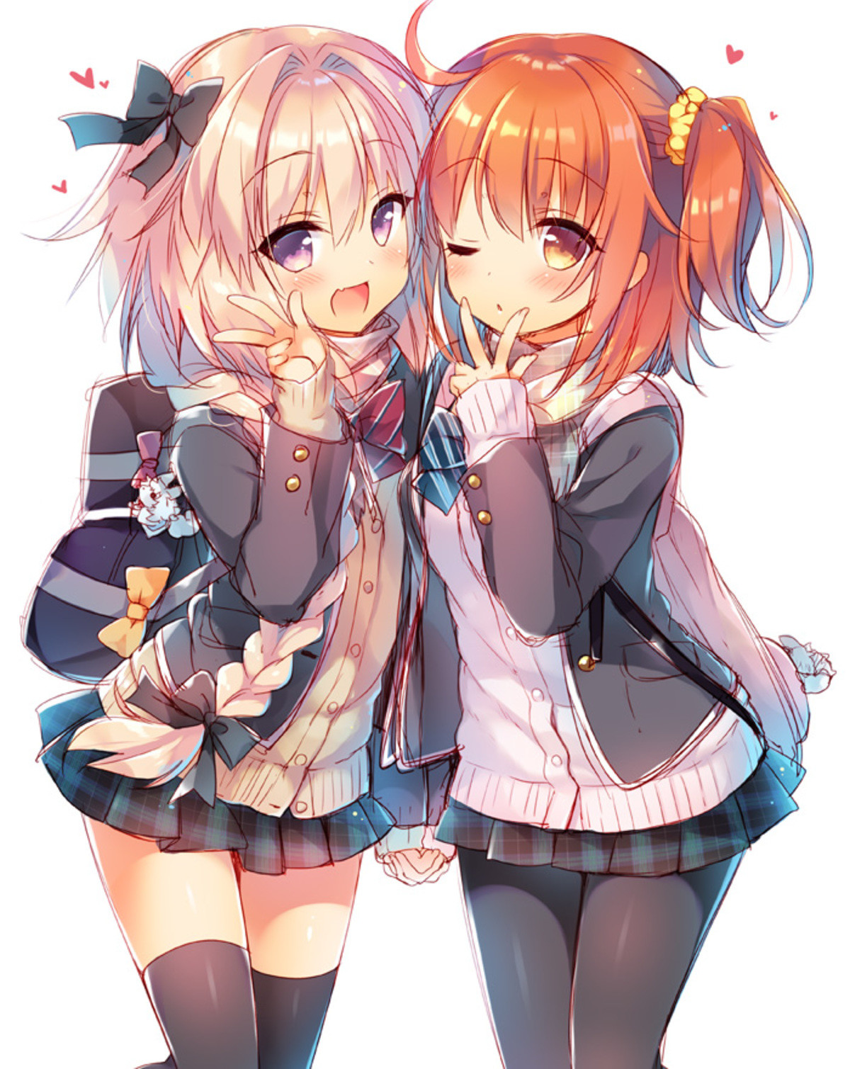 Look at these cute girls. join list: FateStuff (520 subs)Mention History.