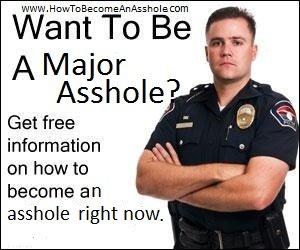 major asshole. thumbz up if you agree.