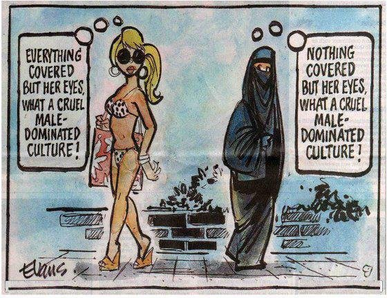 Male Dominated Culture. obviously not my OC. Just thought I should share..