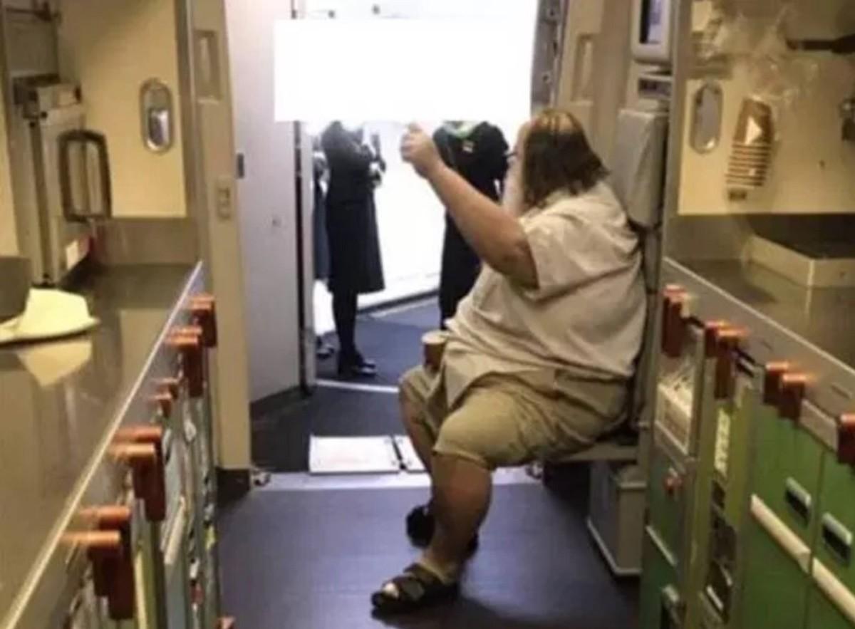 Man Demands Flight Attendants Wipe His Ass For Him. https://www.foxnews.com/travel/flight-attendant-accuses-passenger-of-sexual-harassment-after-he-demands-she-