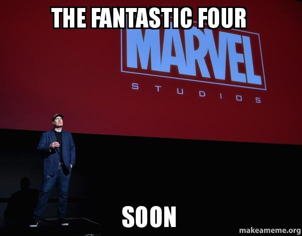 Marvel Studios The Fantastic Four. . m . FOUR urg. A Fantastic Four reboot, the Deadpool movie, and a new WoW expansion that actually has me excited for a change. What a time to be alive.