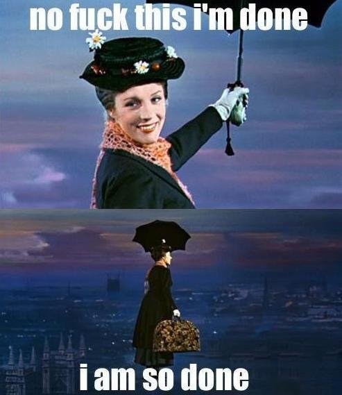 Mary Poppins. sorry if a repost, my friend showed me this and I loled. no tug: this ht? done