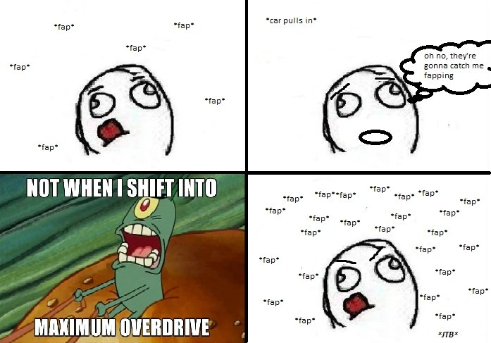"""Maximum Overdrive. . fa pi fa pl fa pl fa pl Jilli WHEN I SHIFT INN notifi"""" oh no, they' re gonna catch me . fa paing tmp. it's harder when your a girl though, i get hand cramps :s"""