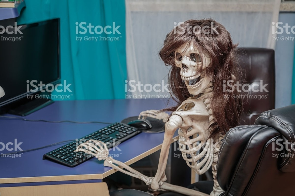 "me irl. On the internet, nobody knows you're a skeleton.. by Getty Images"" ellr. cntrl t. THIS BELONGS IN YOU BONER MAKER"