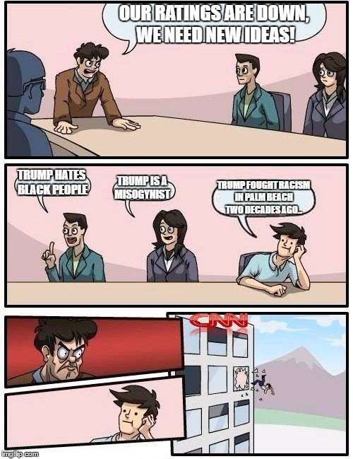 Meanwhile at CNN HQ. .. How did he fight racism?