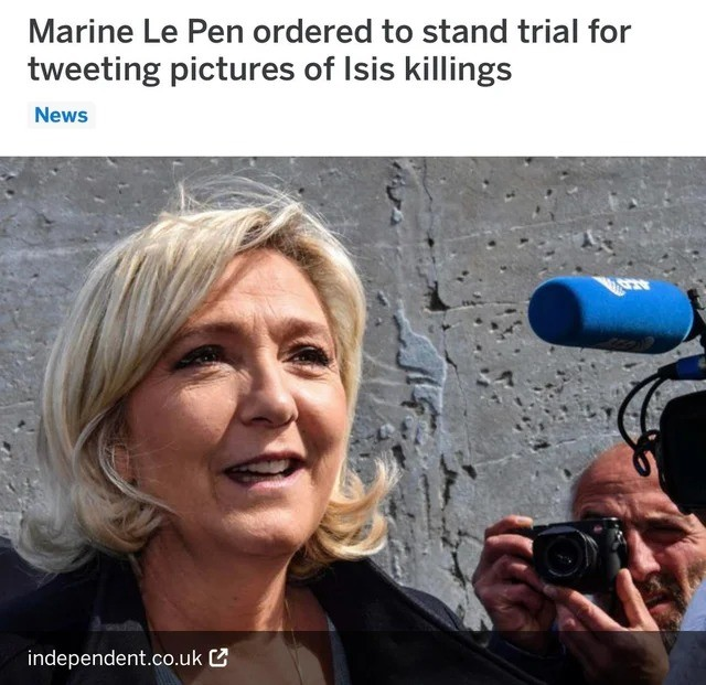Meanwhile in French Clown World. .. Well there it is. The government has declared war against you. The only solution is revolution.