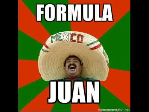 Meanwhile in Mexico.... For Perez.