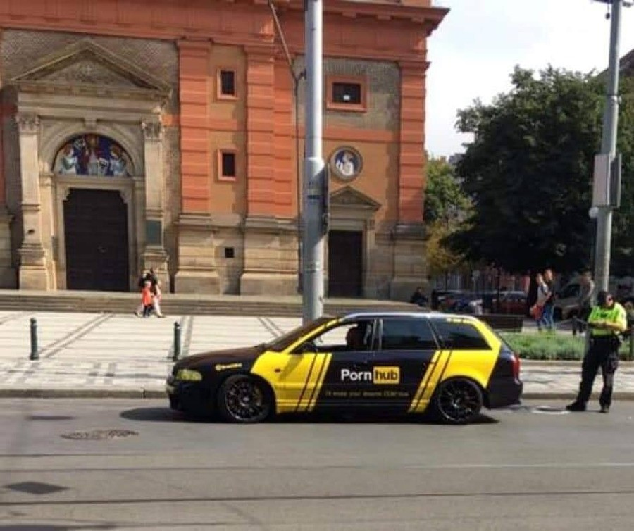 Meanwhile in Prague. .. Why the tinted windows. Comment edited at .