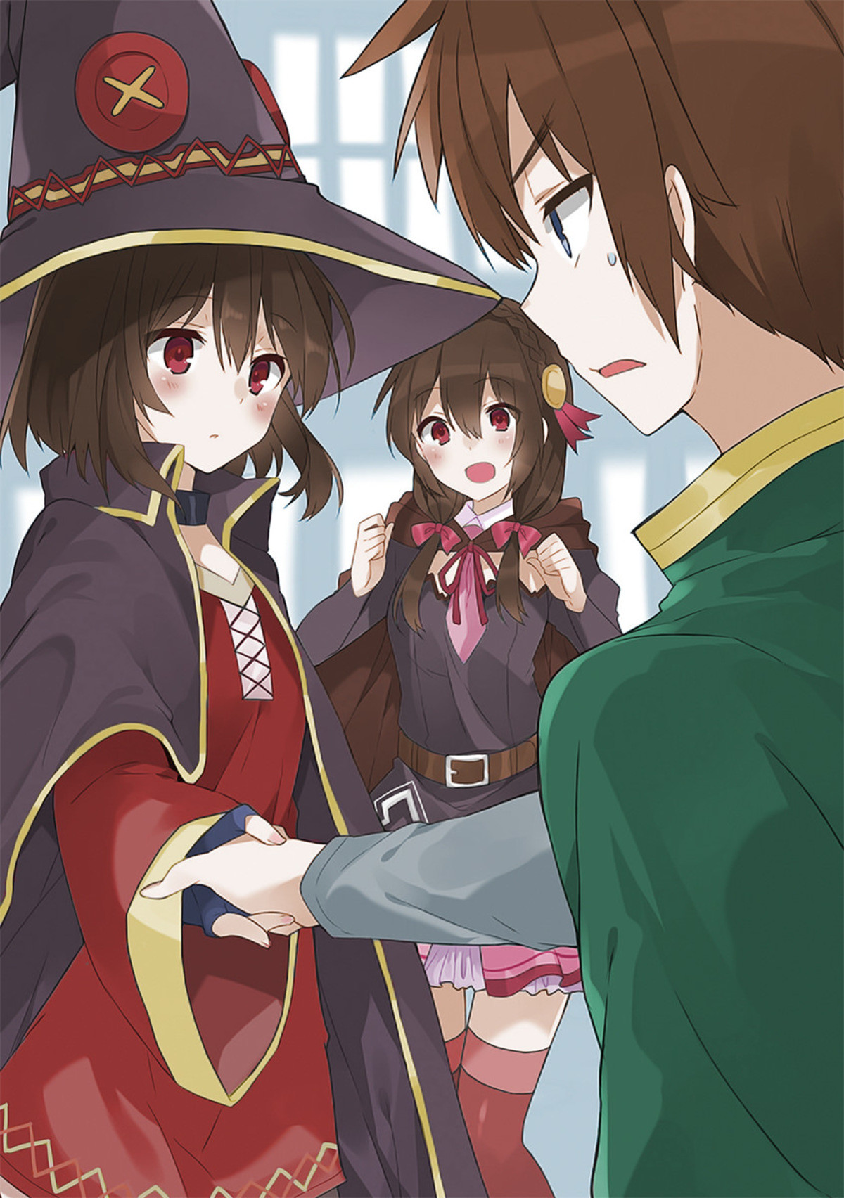 Megumin . join list: Lewds4DHeart (1599 subs)Mention History join list:. have something less lewd to adjust yourself
