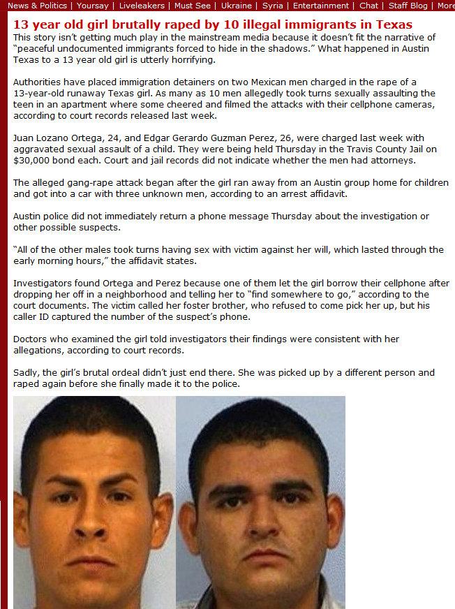Mexican teen gangbang