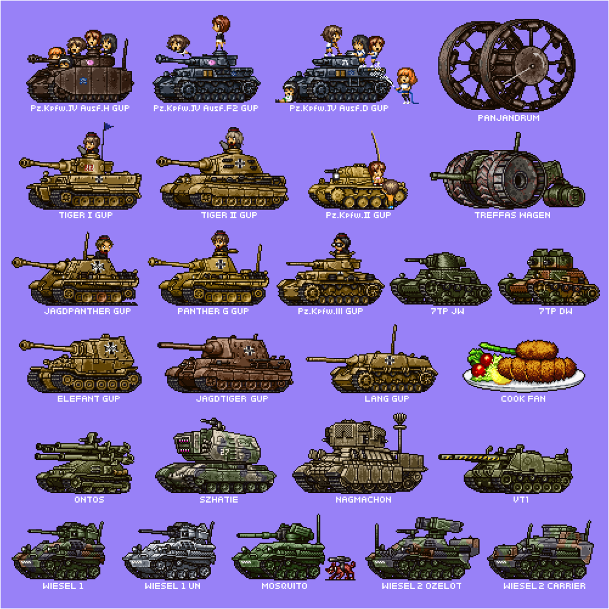 Military Comp: World of Anime Tanks. join list: SnortingVideogames (127 subs)Mention History join list:. join list: AnimangoMention History Tanks are good for you.