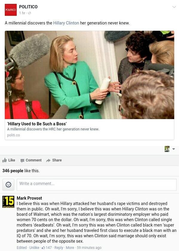Millennial discovers Hillary Clinton. . Hillary Used to Be Such a Boas' A millennial discovers the HRC her generation never knew. pom co Like . Comment pp Share
