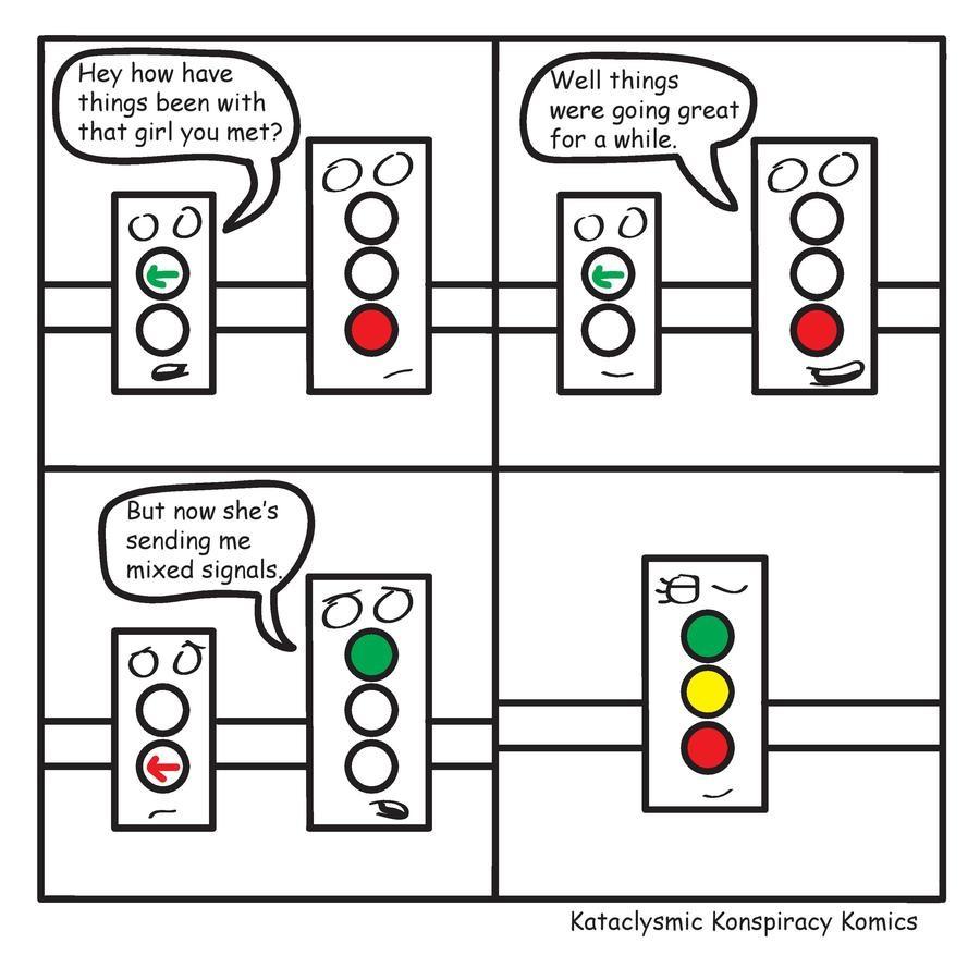 Mixed Signals. Kataclysmic Konspiracy Komics New comics every Wednesday. Twitter: https://twitter.com/realkkkomics Bonus Panel in the comments.. Hey how have el