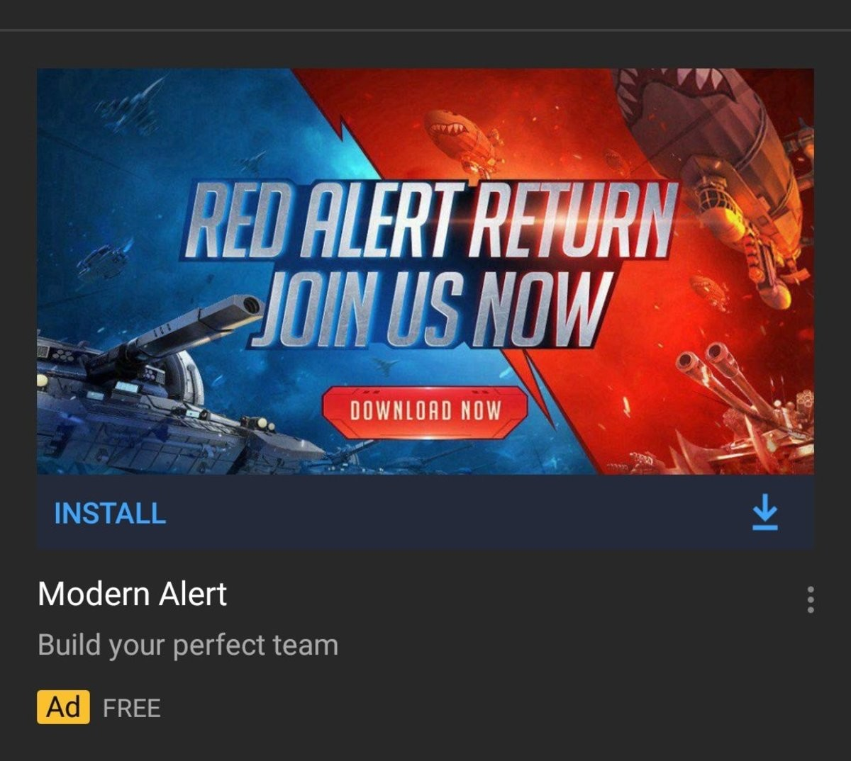 modern alert. .. Never played Command and Conquer, Total Annihilation was my jam but I feel for the fans who watched their beloved franchise turned into a bad mobile game.
