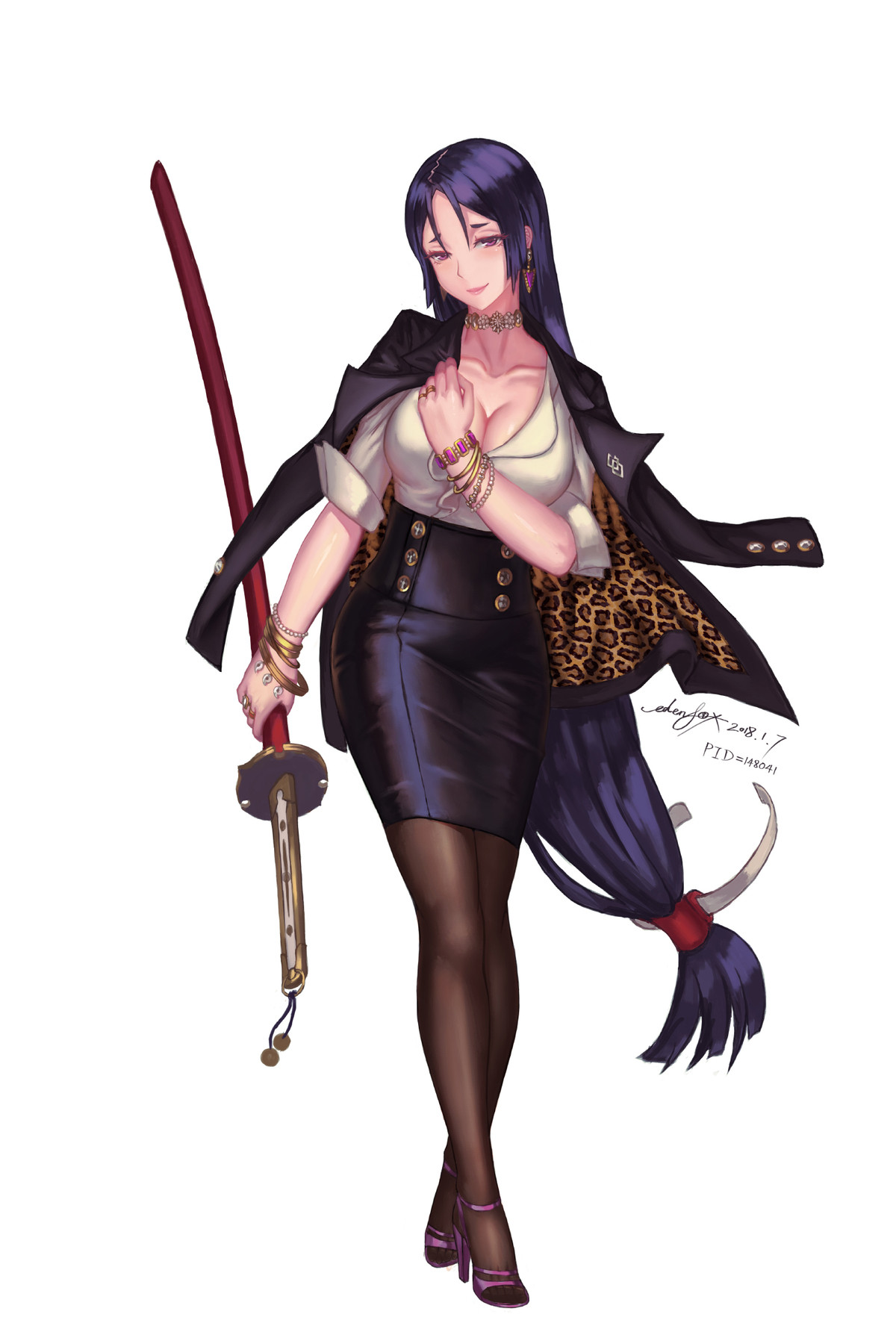 Modern Raikou 2.0 by edenfox. .. I hope theres a character like this in wano