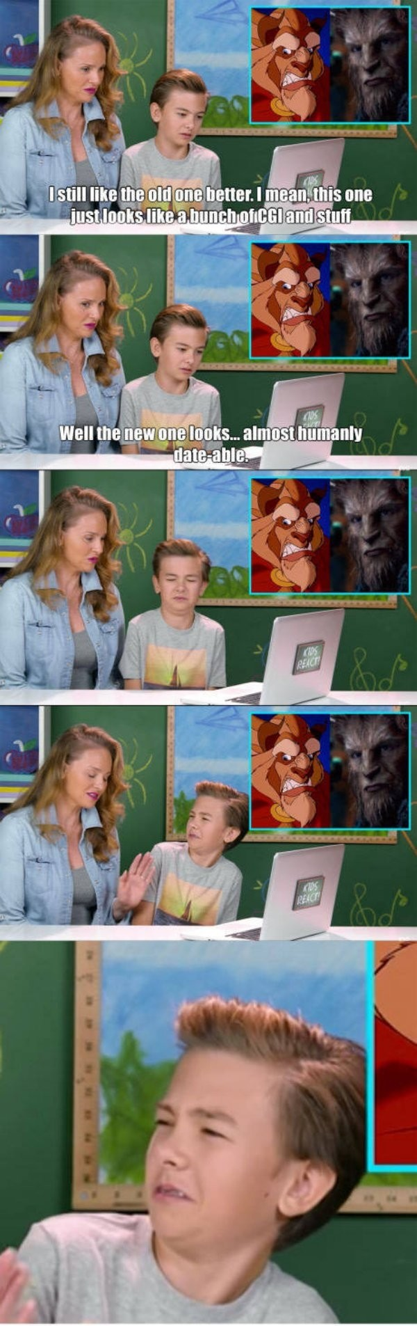 Mom wants to date the beast. . Iller. _ q ttwtt y. WTF MOM