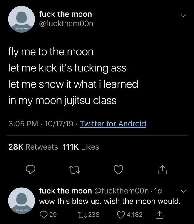 moon. .. Obligatory