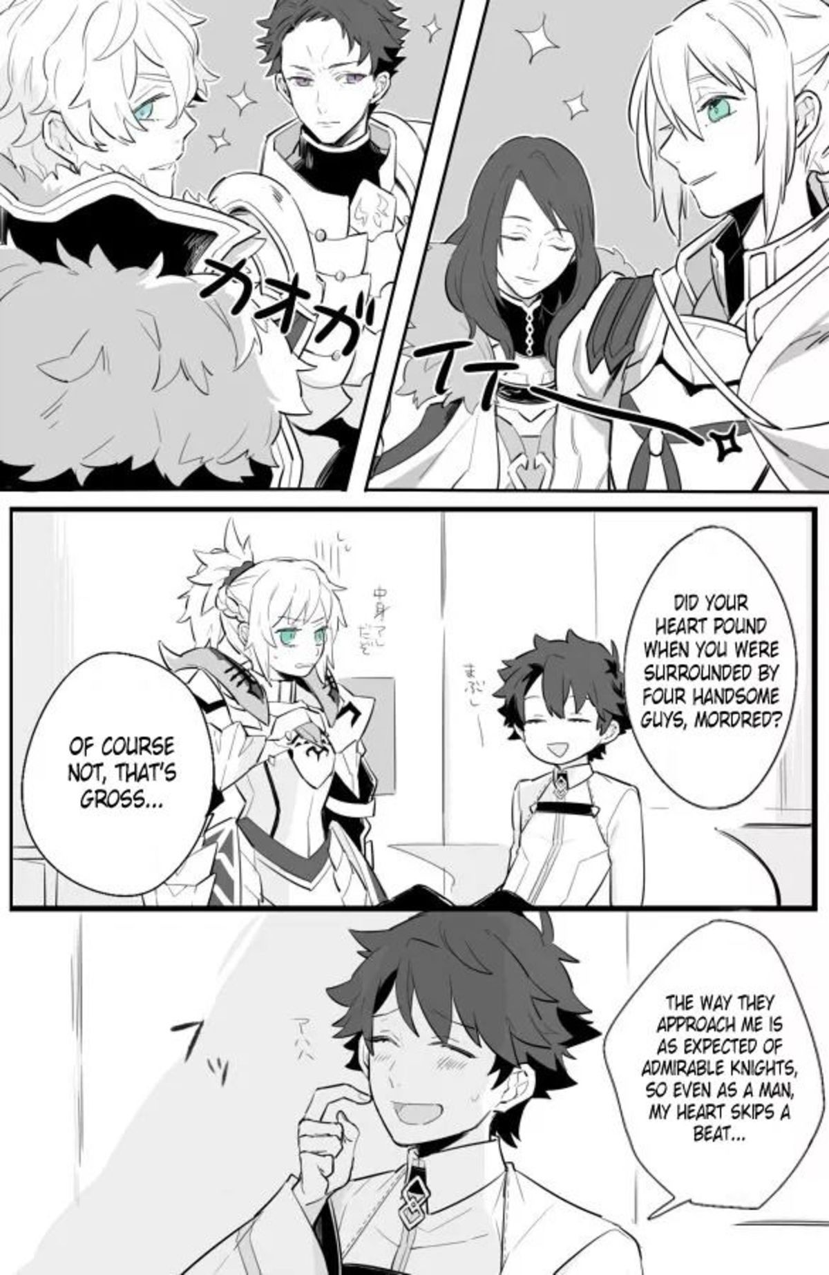 Mordred Is a Gentlemen. join list: Lewds4DHeart (1587 subs)Mention History join list:. This is what being too much into traps does to you.
