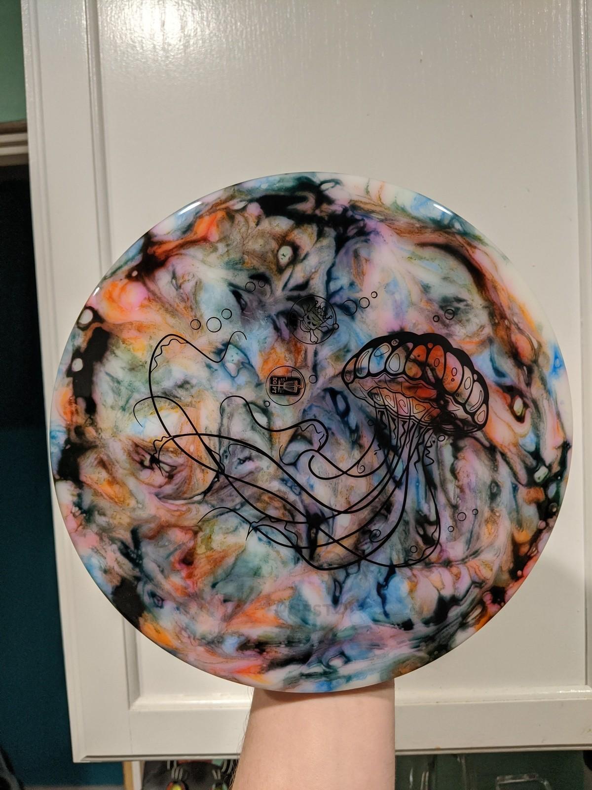 My latest custom dye job. It's a golf disc.. .. Thats prity dope op good job!
