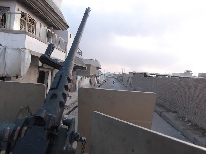 My M2A1. Cruisin' down the street in my six four..... Guessing no one likes the .50 cal.