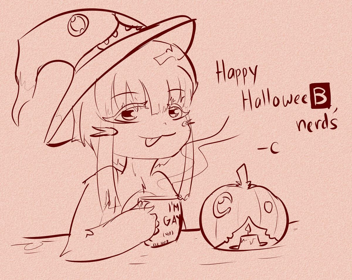 Nanachi Wishes You a Happy Halloween. join list: Lewds4DHeart (1585 subs)Mention History join list:. Aw, the Mitty pumpkin