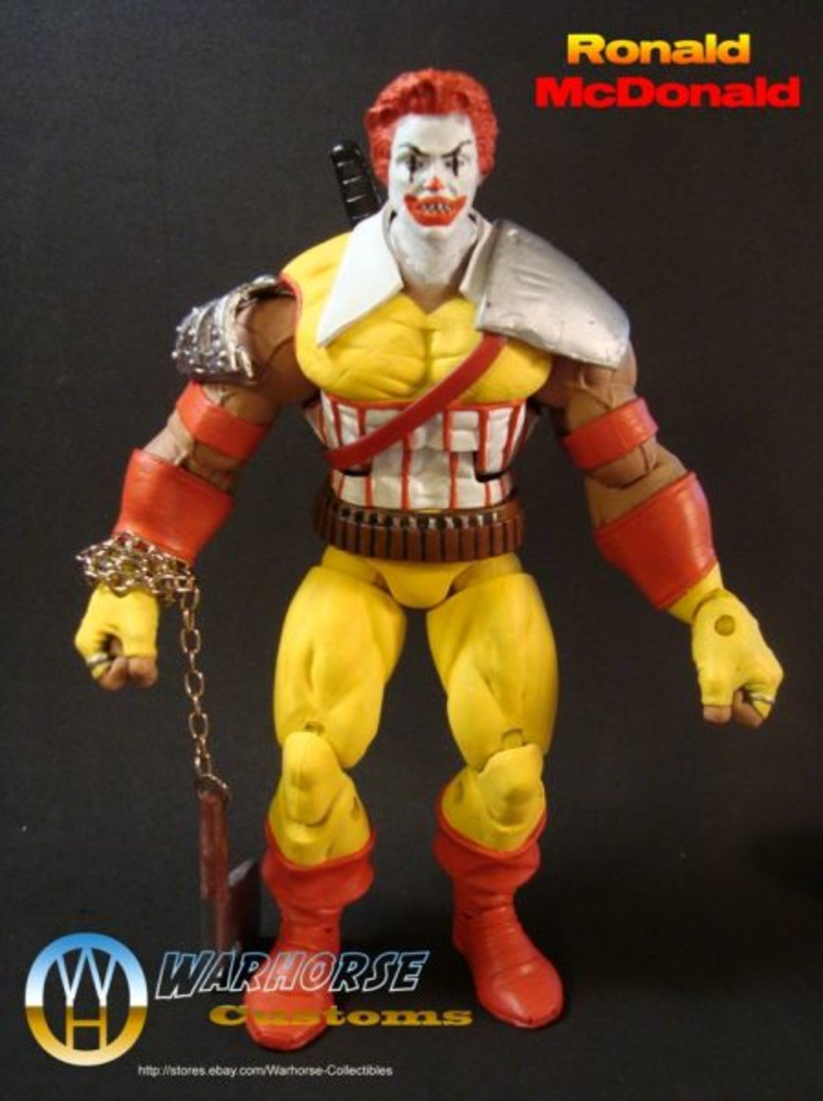New McDonalds Toys. Looks like McDonalds is pulling out all the stops to appeal to the newer generation of kids with these new Happy Meal toys... Ronald's Bizzare Adventure