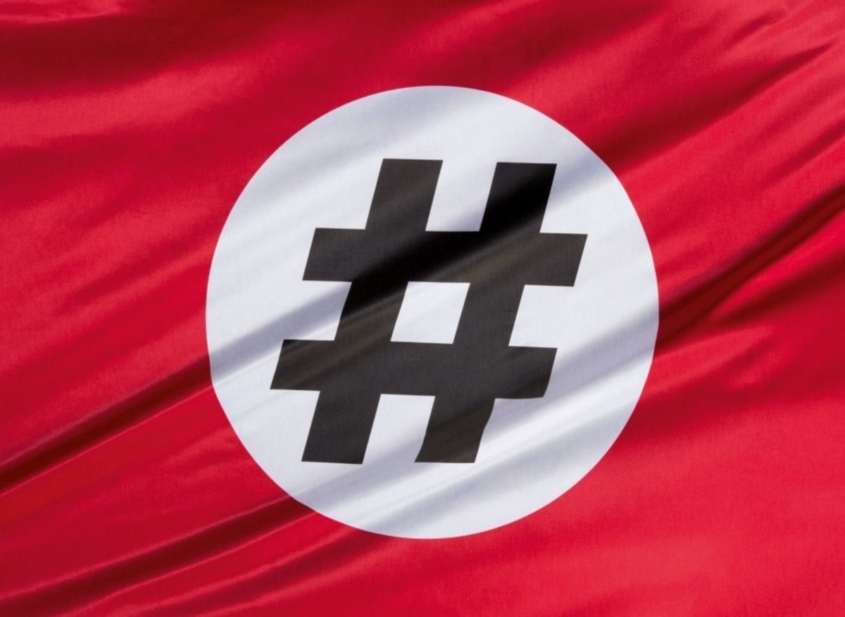 """New meme campaign straight from the chan. The end goal is to make the hashtag the new age swastika, similar to the """"ok"""" hand gesture. Why do this? Bec"""