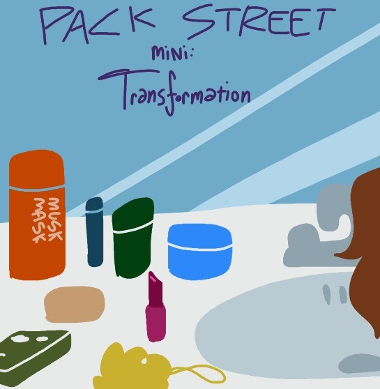New (mini) Packstreet: Transformation. Link to story: We've been Shyamalan'd!.