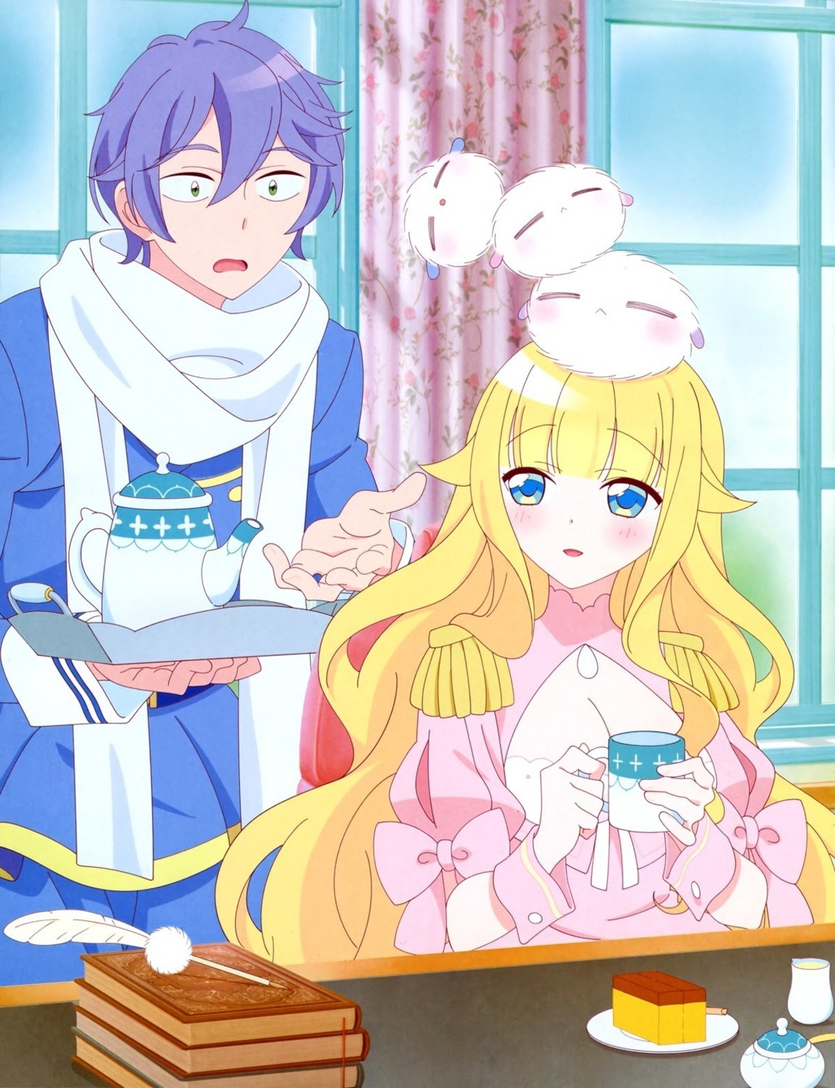 New Moe Anime: Beelzebub jou no okinimesu mama. the leader of hell Beelzebub is a big titty airhead who likes fluffy things How does hell run? Find out join lis