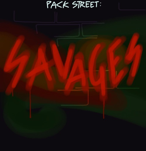New Packstreet: Savages. Link to story: As tensions rise across the city, Remmy prepares for an evening with one of his neighbors... Aw man, now I'm sad.