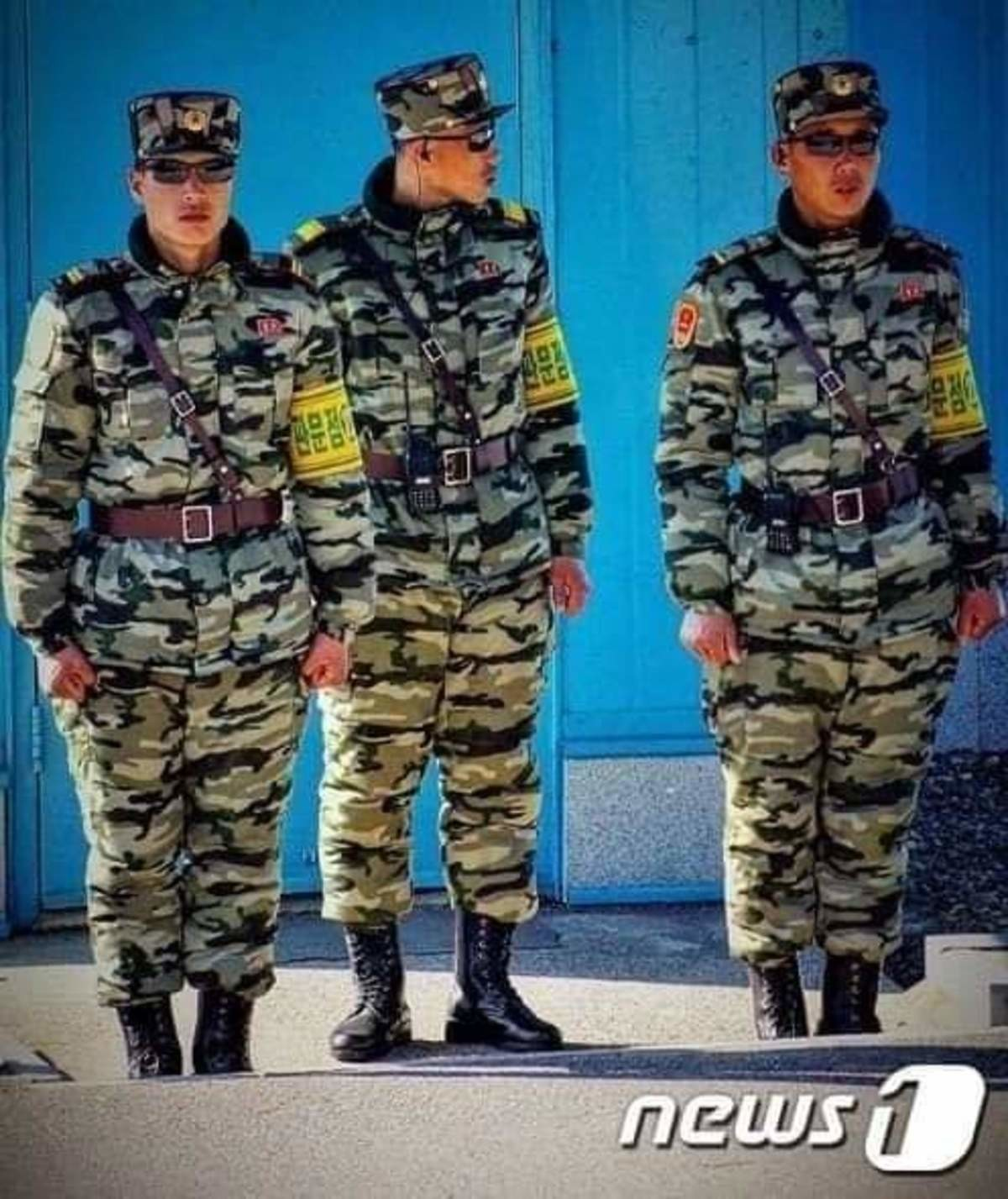 New uniform for The NK DMZ guard. join list: Combat (612 subs)Mention Clicks: 21753Msgs Sent: 90929Mention History.. Manlets, when will they learn?