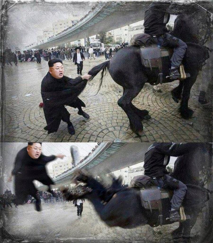 North Korea nuclear program. .