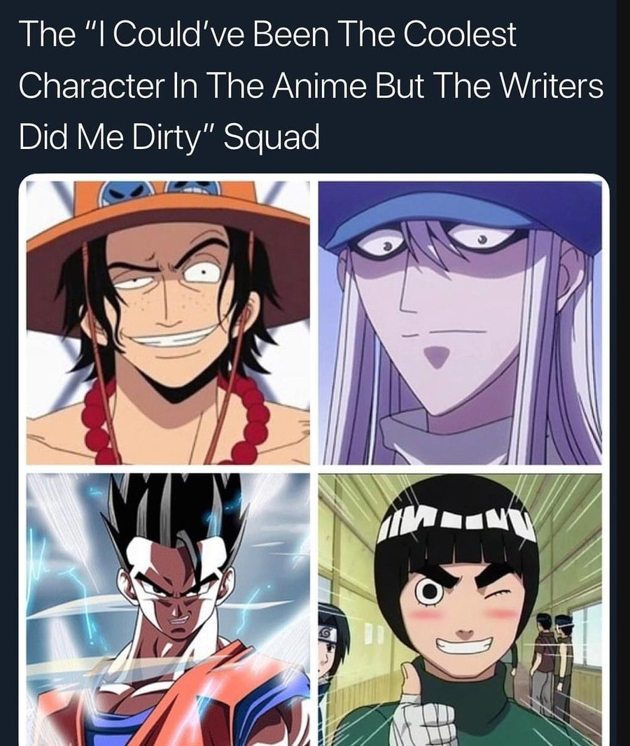 nostalgic addicted Swallow. .. >implying rock lee isnt the second coolest character in the show right after guy-sensei implying the writer did him dirty while he still was around till the