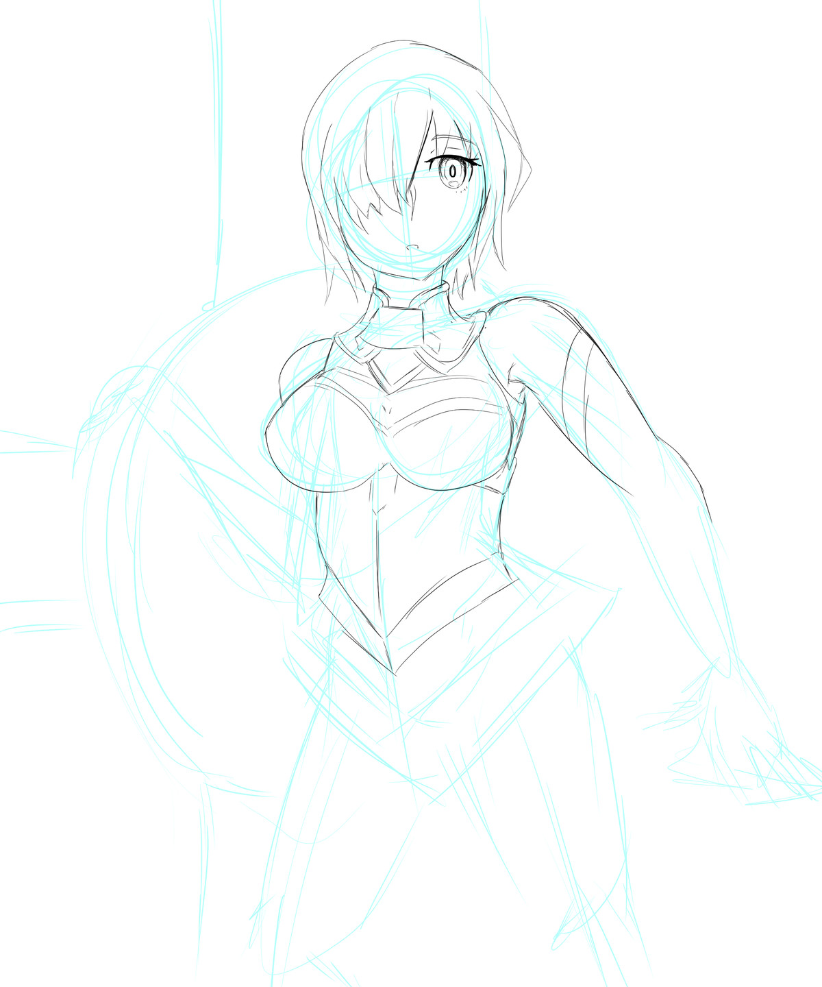 Mash WIP. Considering I've basically never drawn her before I think i've nailed it join list: GBArt (52 subs)Mention History.. face > nice boobs > pretty good It's already a sucess!Comment edited at .