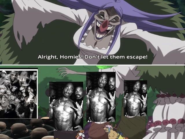 oda is secretly black. .